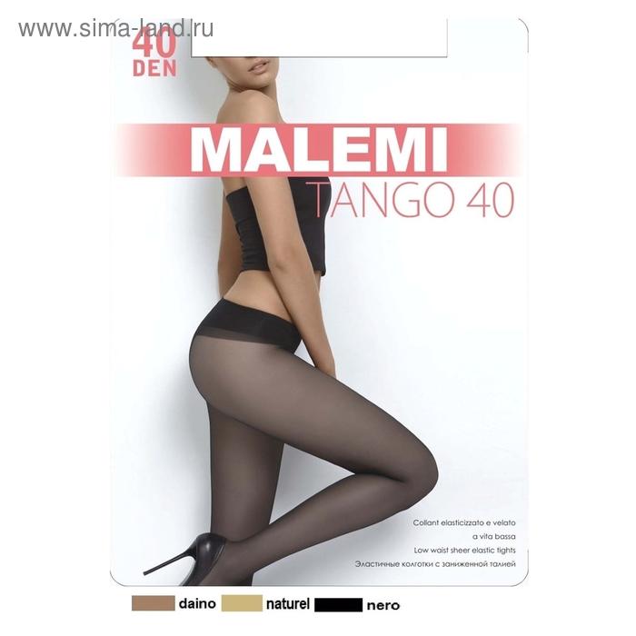 Колготки женские MALEMI, цвет nero (чёрный), размер 4 (арт. Tango 40)