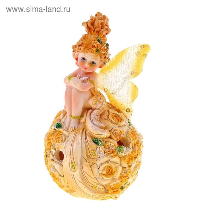 """Светильник """"Смущённая фея"""" желтый"""