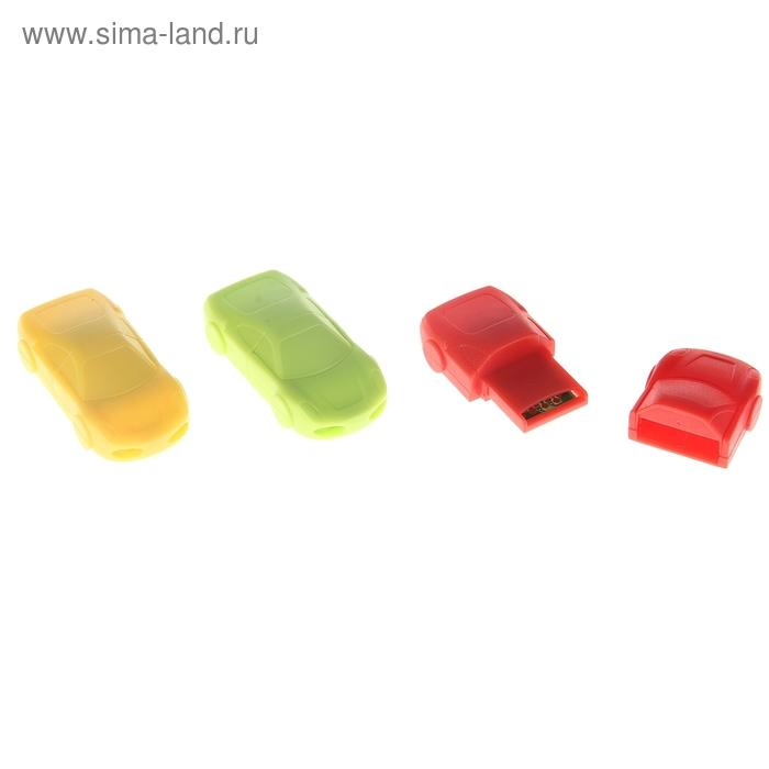 """Картридер мини, для Micro-SD, маленький, """"Машина"""", МИКС"""