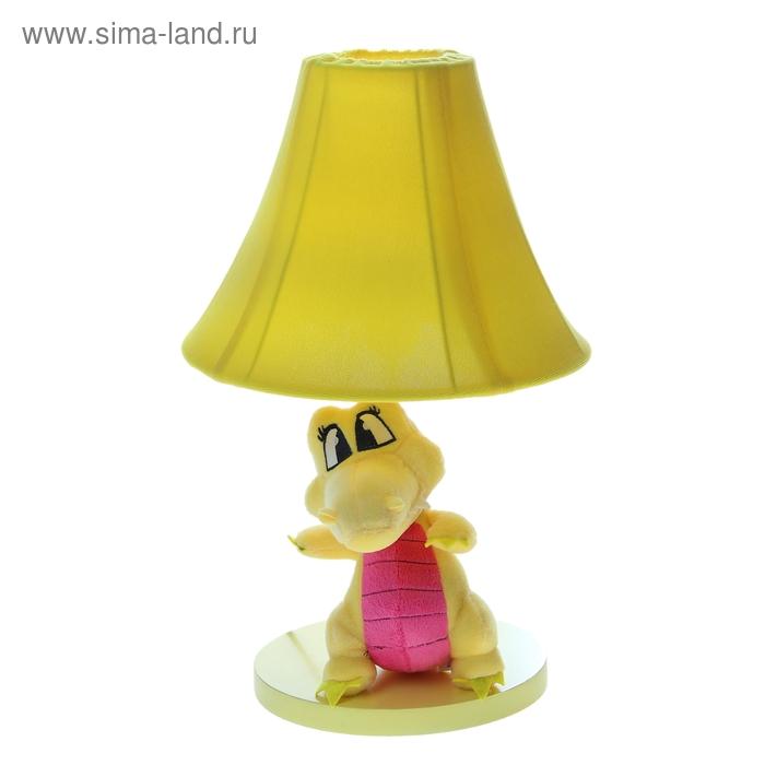 """Светильник детский """"Плюшевый динозаврик"""", жёлтый"""