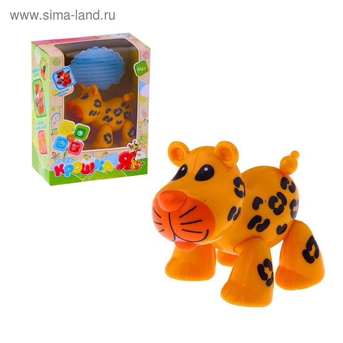 """Забавное животное """"Леопард"""" с подвижными лапами, головой, хвостиком"""