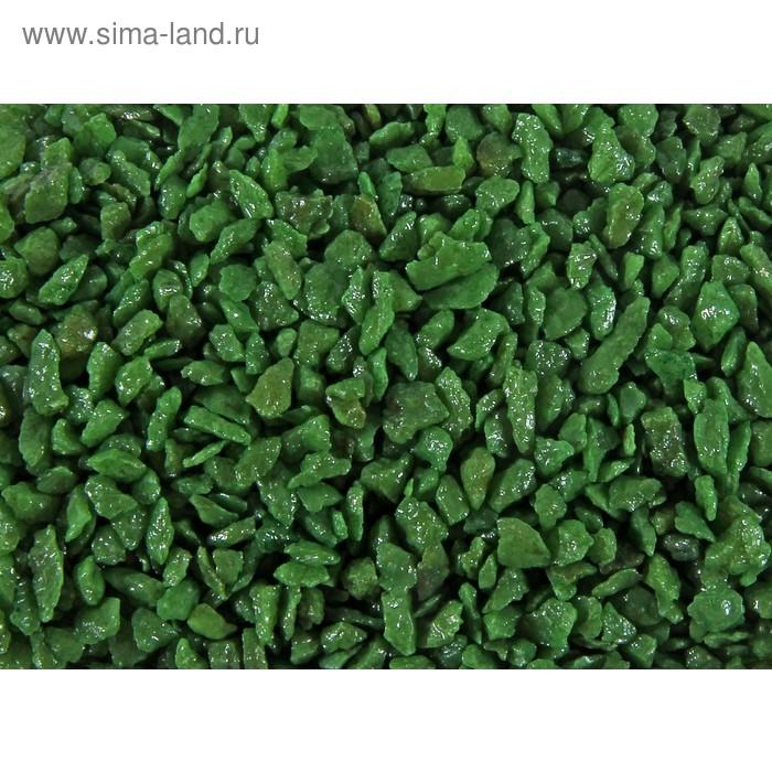Грунт зеленый для декора 350 гр
