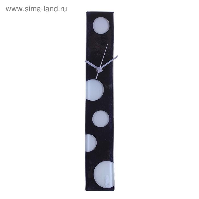 """Часы настенные """"Руги"""" черно-белые"""