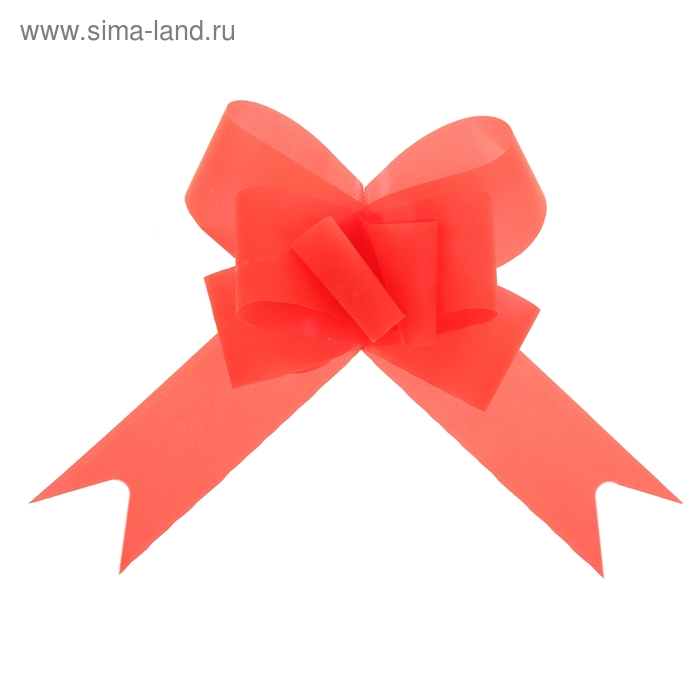 "Бант-бабочка №4,5 ""Классика"", цвет красный"