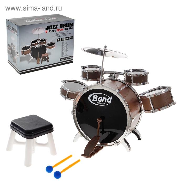 """Барабанная установка """"Джазовая группа"""", со стульчиком"""