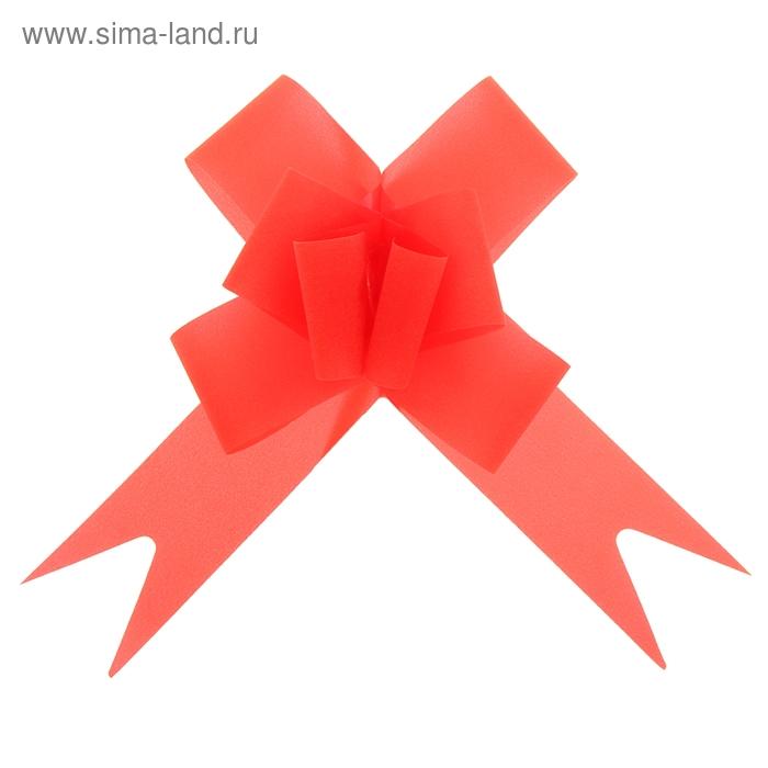 "Бант-бабочка №3 ""Классика"", цвет красный"