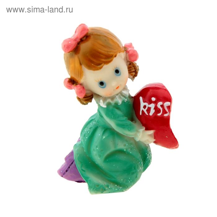 "Сувенир ""Малыш с половинкой сердца"" МИКС"