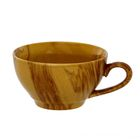 """Чашка 300 мл """"Чайная"""" радуга, коричневая"""