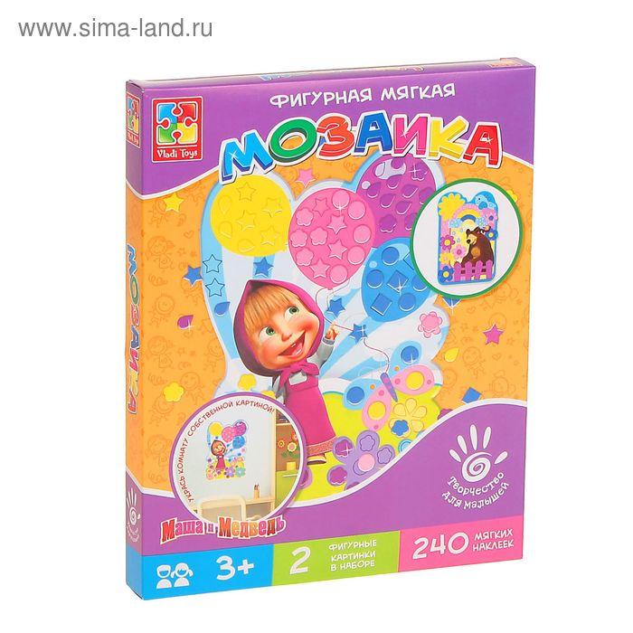"""Мозаика-аппликация """"Маша с шарами"""""""