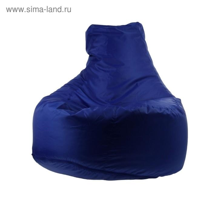 """Кресло-мешок """"Банан"""", d90/h100, цвет синий"""
