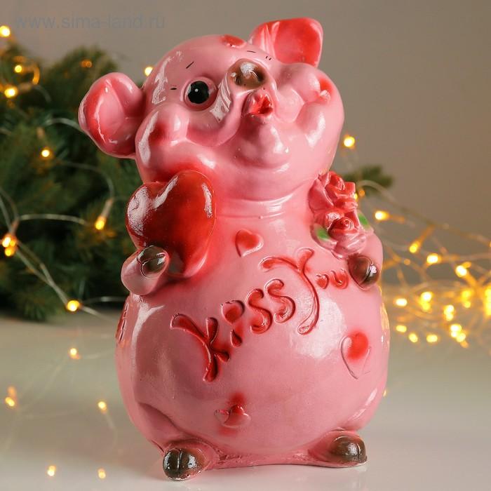 "Копилка ""Свин: kiss you"""