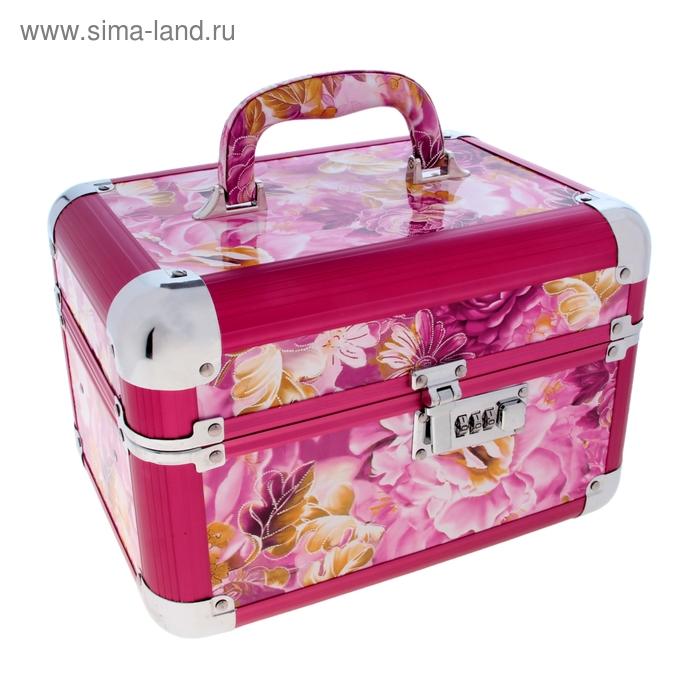 """Шкатулка-сундучок под бижутерию """"Розовый подарок"""""""