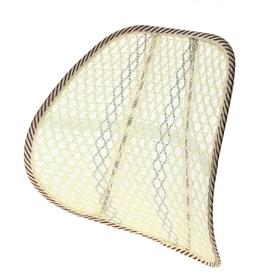 Ортопедическая спинка-подушка упругая на сиденье, 38х39 см, бежевый