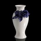 Ваза Blue Rose Snello, белая
