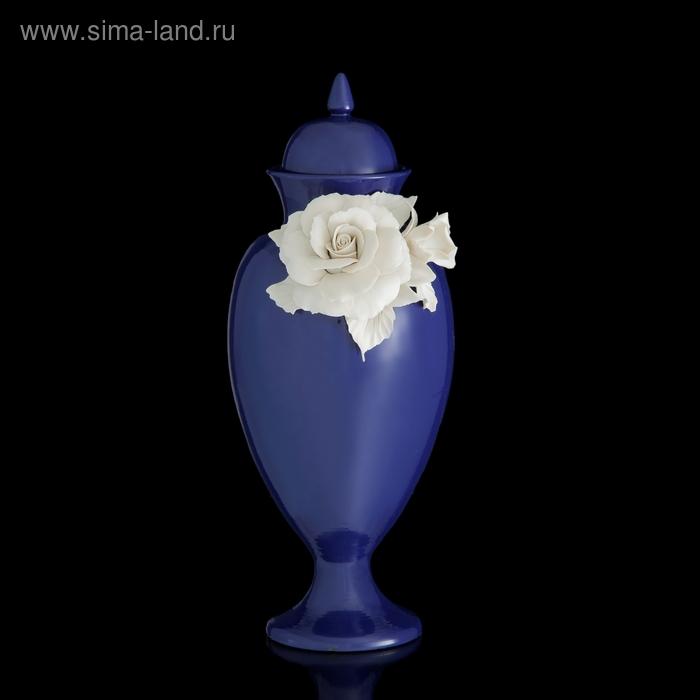 Ваза декоративная White Rose Lunga