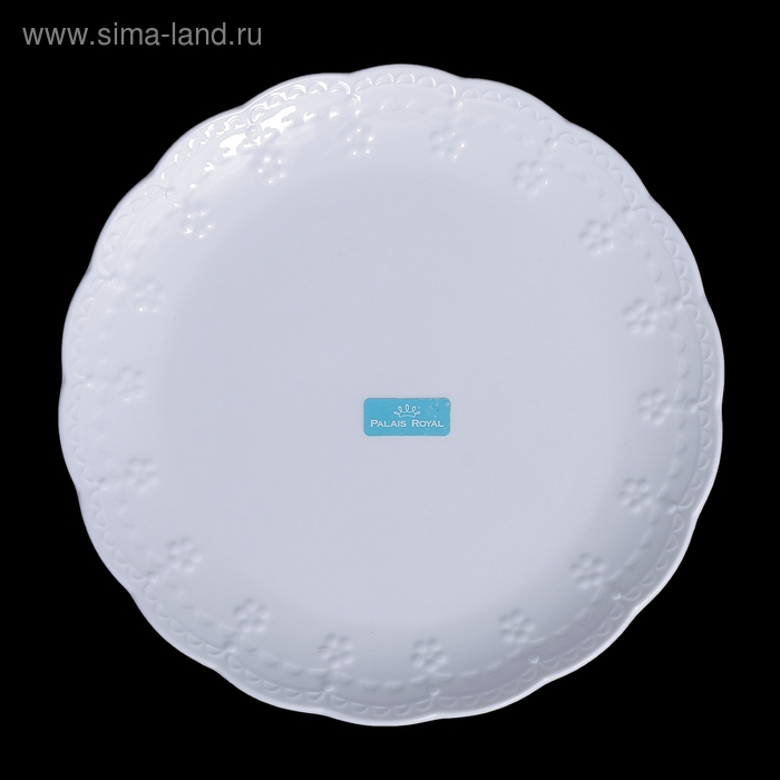 Набор тарелок Dolci белый (6 шт)