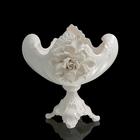 Ваза для конфет White Rose, белая