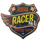 """Наклейка на авто """"Russia Racer"""""""