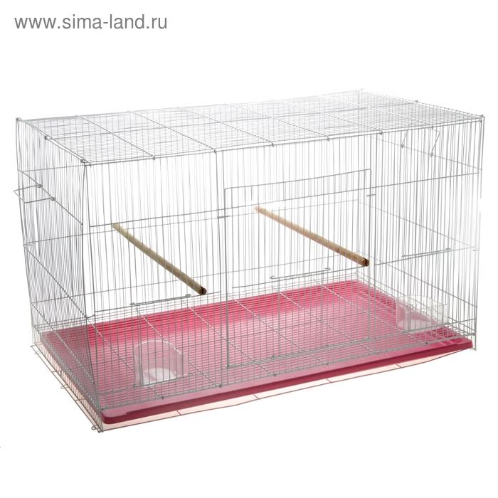 Клетка для птиц 76 х 46 х 46 см