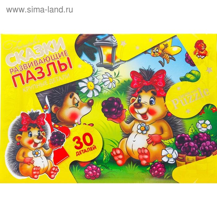 """Пазлы-макси """"Ежик"""", 30 элементов"""