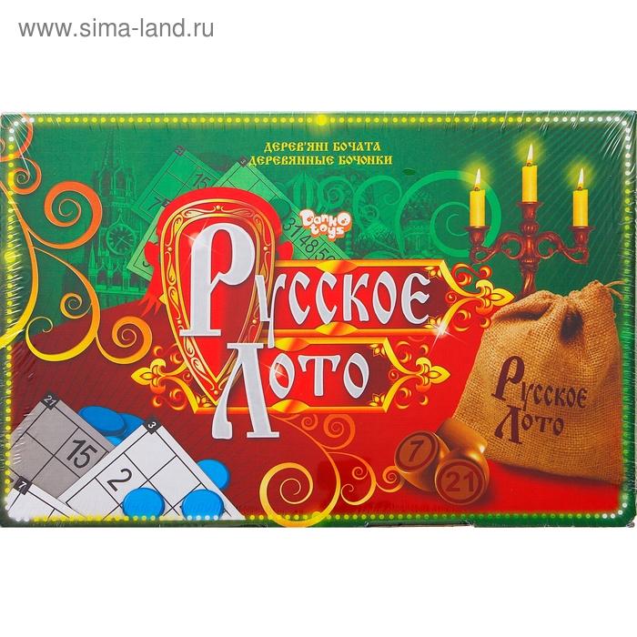 """Лото """"Русское"""" в коробке"""