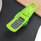 Терка для чеснока малая с держателем, цвета МИКС