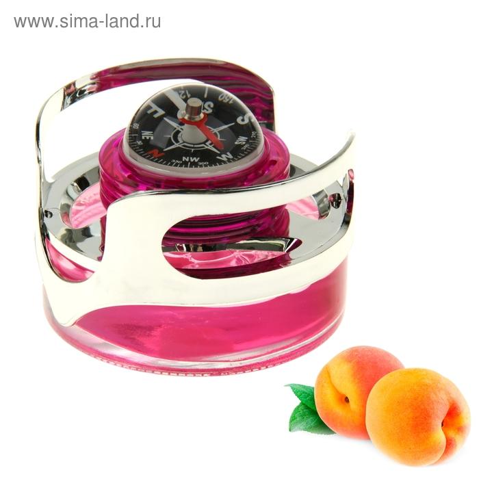 Ароматизатор для авто Luazon Lux Travel, с компасом, аромат персика