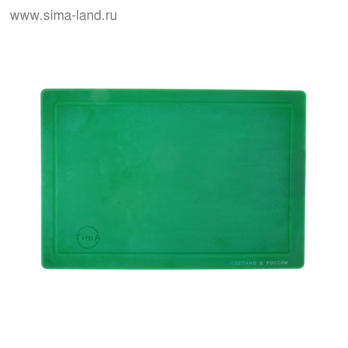 """Доска разделочная 36х25 см """"Палитра"""", цвет зеленый"""