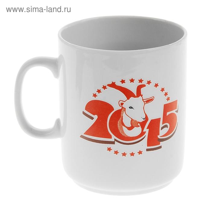 """Кружка фарфоровая """"Красный козел"""" 2015"""