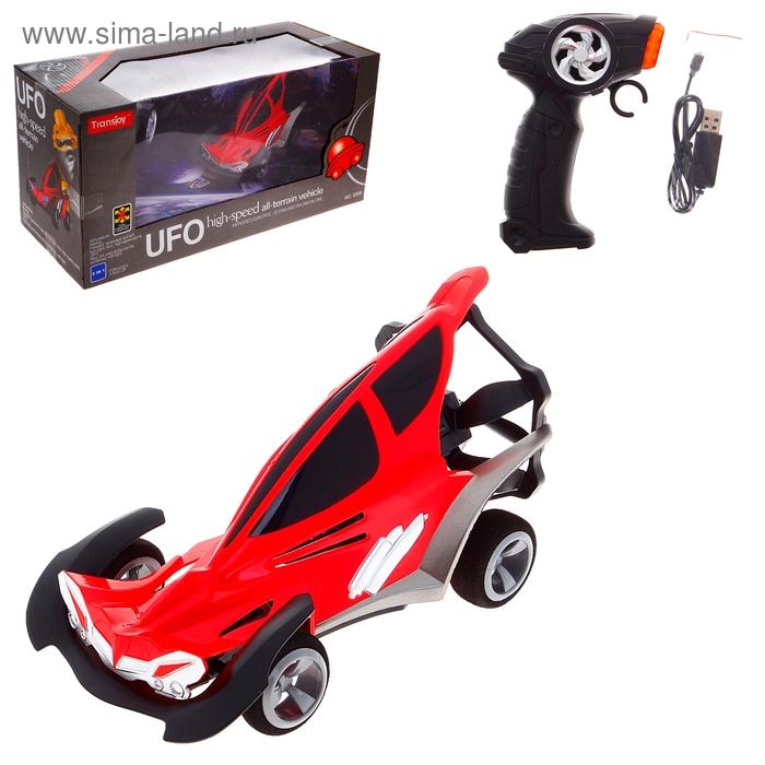 """Машина радиоуправляемая """"НЛО"""", заряд от USB, цвета МИКС"""
