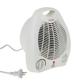 Тепловентилятор Irit IR-6007, 2000 Вт, вентиляция без нагрева, белый Ош