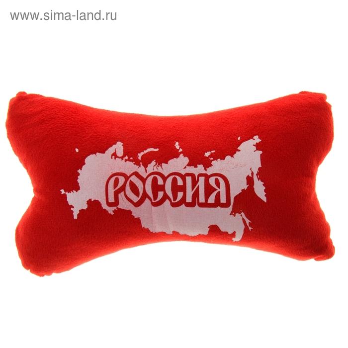 """Подушка для шеи """"Россия"""""""