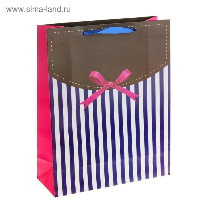 """Пакет ламинированный """"Розовый бантик"""""""