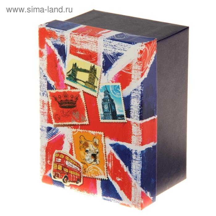 """Коробка подарочная """"Британский флаг"""""""