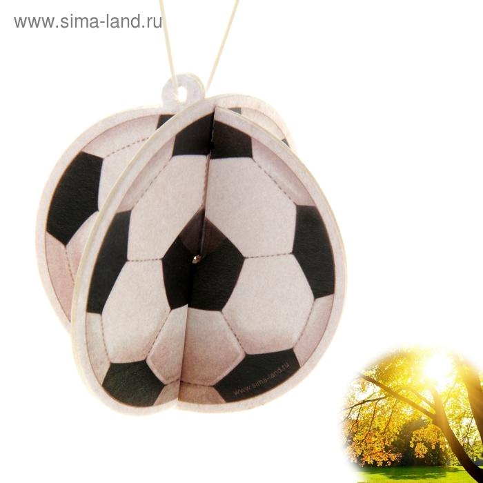 """Ароматизатор для авто Luazon 3D Aroma """"Мячик"""",солнечный день"""
