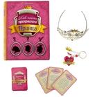 """Набор в книге-шкатулке """"Как найти прекрасного принца"""": брелок+диадема+набор карточек"""