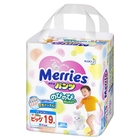 Подгузники-трусики Merries 12-22 кг, в упаковке 19 шт