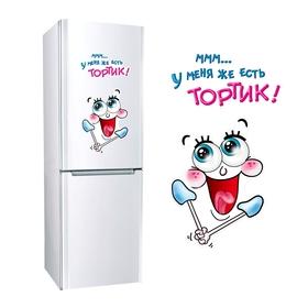 """Наклейка для холодильника """"Тортик"""", 2 листа"""