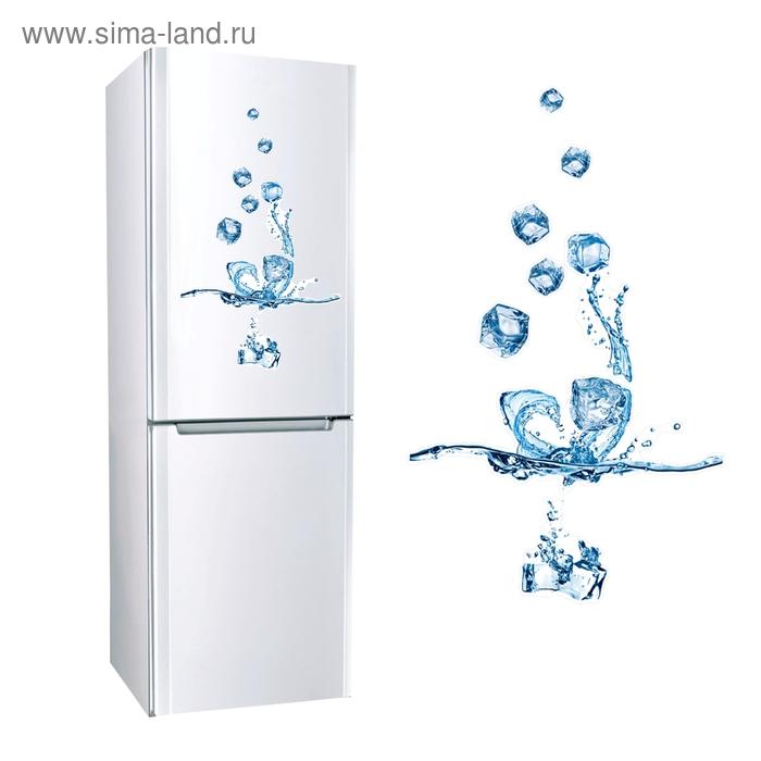 """Наклейка для холодильника """"Кубики льда"""""""