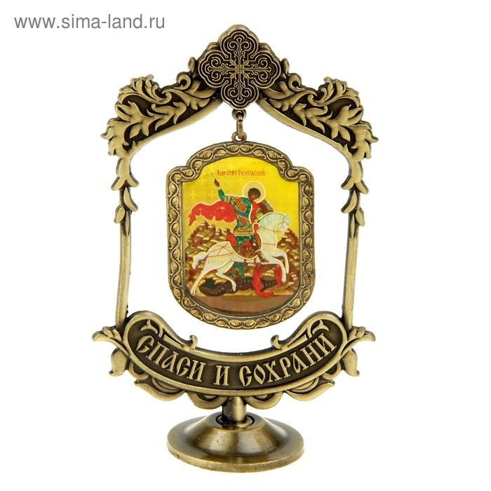 Икона Георгия Победоносца на подвесе