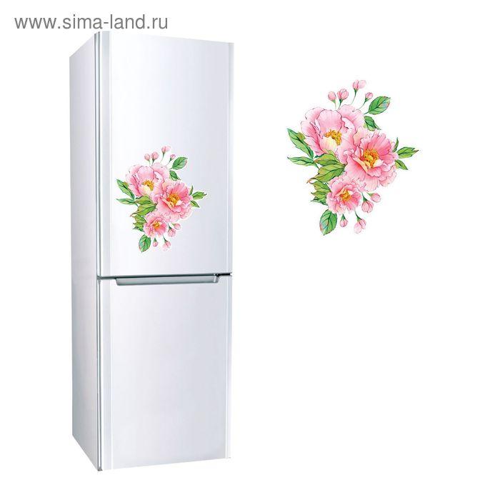 """Наклейка для холодильника """"Цветы"""""""