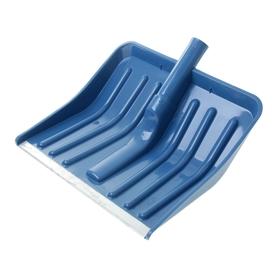 Ковш лопаты пластиковый, 370 х 340 мм, с алюминиевой планкой, тулейка 32 мм, цвет МИКС Ош