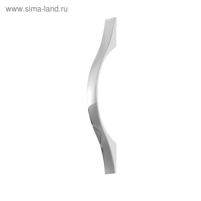 "Ручка мебельная (арт.404) 96 мм, цвет ""хром"""
