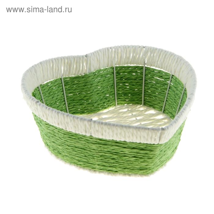 """Корзинка декоративная """"Зелень"""""""