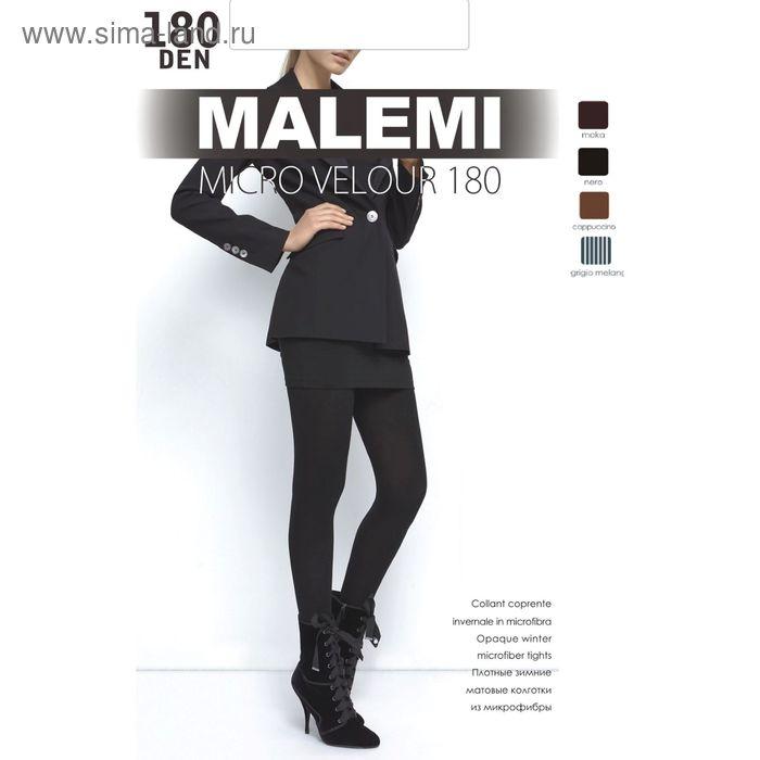 Колготки женские MALEMI Micro Velour 180 (chocolate, 3)
