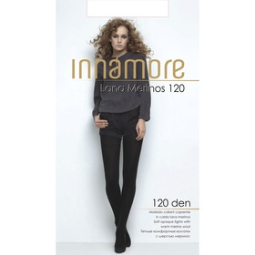 Колготки женские INNAMORE Lana Merinos 120 (nero, 3)