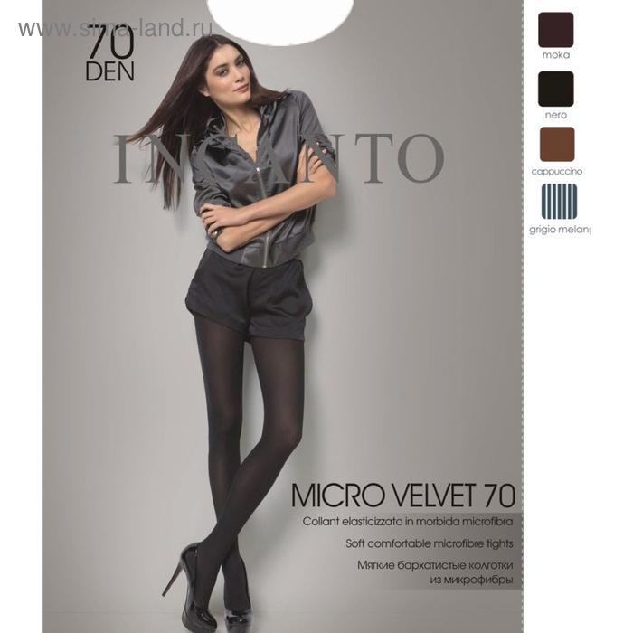 Колготки женские INCANTO MicroVelvet 70 (nero, 5)