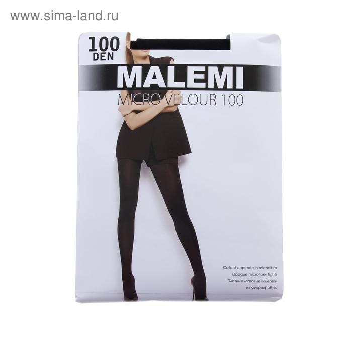 Колготки женские MALEMI Micro Velour 100 (chocolate, 4)