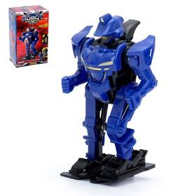 """Робот """"Супербот"""", работает от батареек, цвета МИКС"""