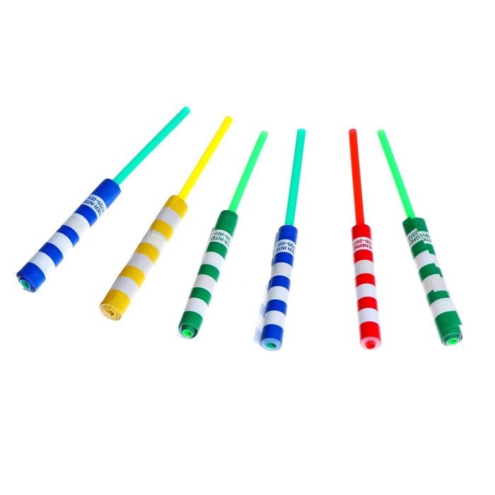 "Серпантин на палочке ""Полоски"", цвета МИКС"
